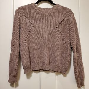 Dusty Pink Knit Sweater
